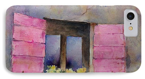 Pink Shutters IPhone Case