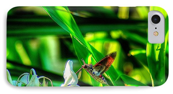Pink Spotted Hawk Moth IPhone Case