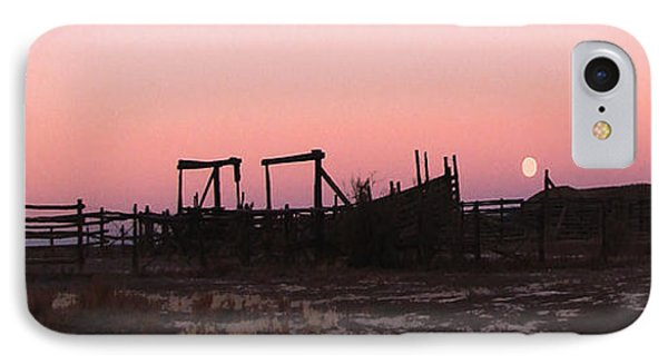 Pink Sunset Over Corral IPhone Case