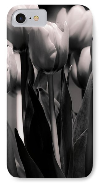 Pink Toned Tulips IPhone Case