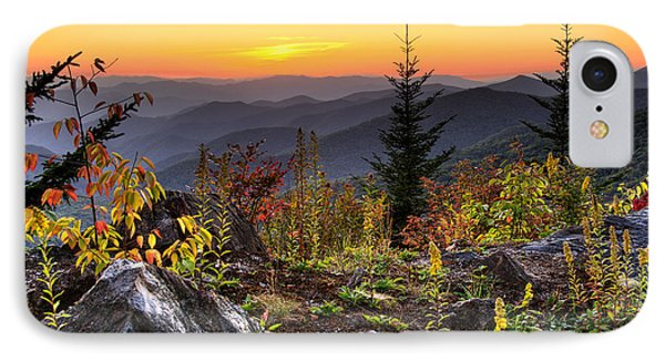 Pisgah Sunset - Blue Ridge Parkway IPhone Case