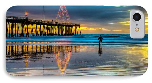 California Christmas IPhone Case
