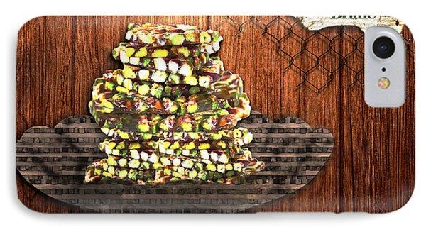 Pistachio Brittle IPhone Case