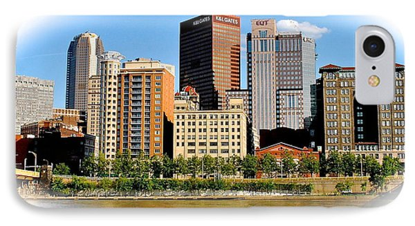 Pittsburgh In The Spotlight IPhone Case
