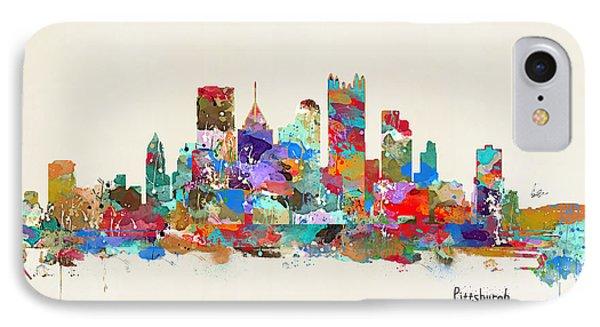 Pittsburgh Skyline Pennsylvania IPhone Case