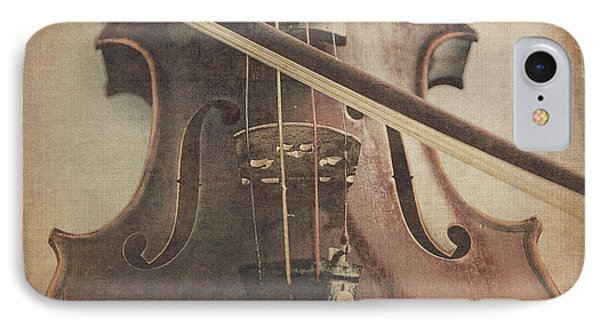 Violin iPhone 8 Case - Play A Tune by Emily Kay