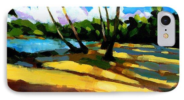 Sand iPhone 8 Case - Playa Bonita 2 by Douglas Simonson