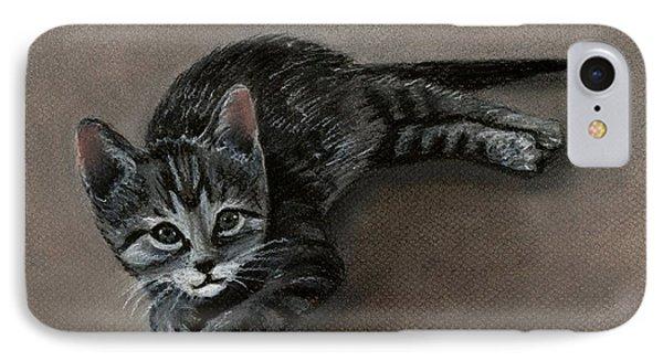 Playful Kitten IPhone Case