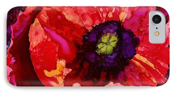 Playful Poppy IPhone Case