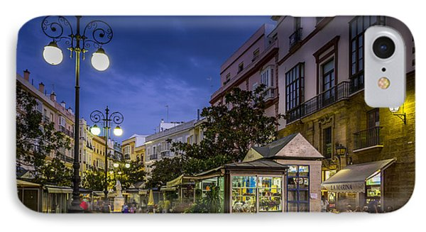 Plaza De Las Flores Cadiz Spain IPhone Case