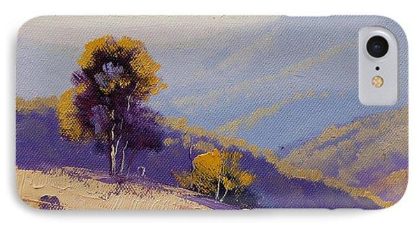 Rural Scenes iPhone 8 Case - Plein Air  Study by Graham Gercken