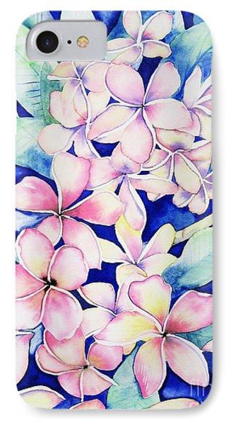 Plumerias Of Maui IPhone Case