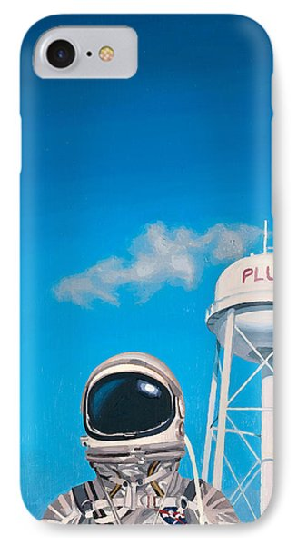 Sky iPhone 8 Case - Pluto by Scott Listfield