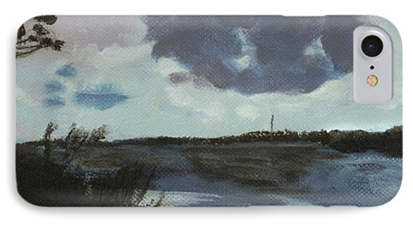 Pointe Of Chein Blue Skies IPhone Case