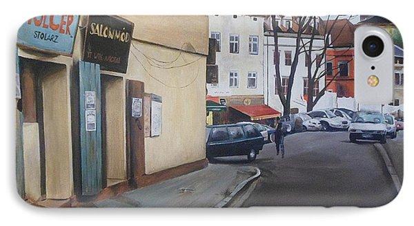 Polish Street IPhone Case