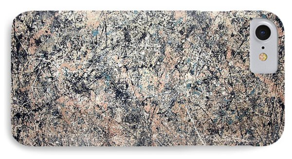 Pollock's Number 1 -- 1950 -- Lavender Mist IPhone Case