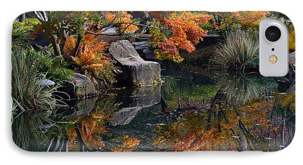 Pond In Autumn IPhone Case