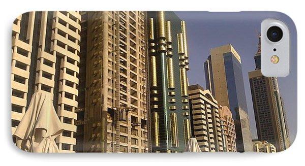 Poolside In Dubai IPhone Case