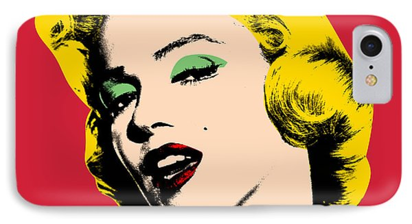 Portraits iPhone 8 Case - Pop Art by Mark Ashkenazi