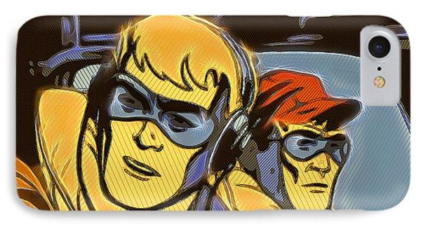 Pop Art Pilots IPhone Case