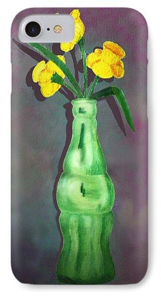 Pop Bottle Daffodil IPhone Case