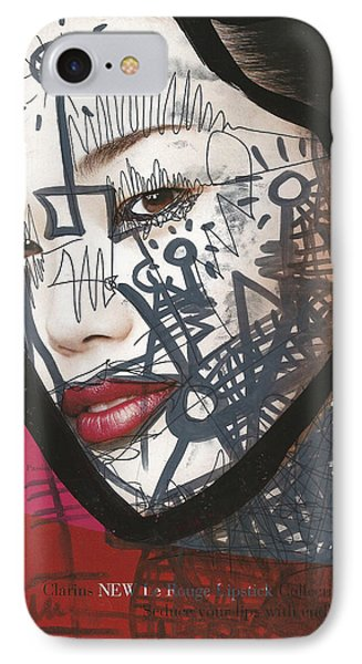 Pop-graffiti Tattoo Model IPhone Case