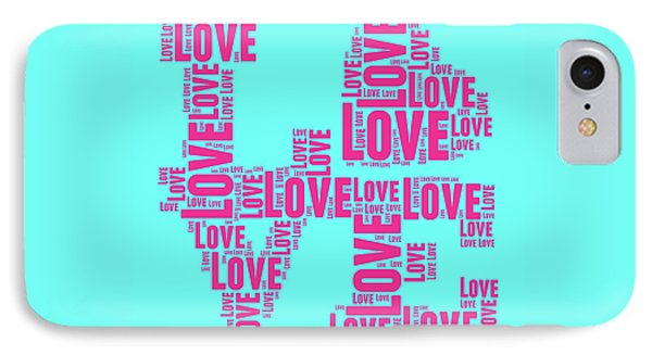 Tribute iPhone 8 Case - Pop Love 1 by Delphimages Photo Creations