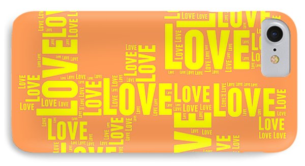 Tribute iPhone 8 Case - Pop Love 3 by Delphimages Photo Creations