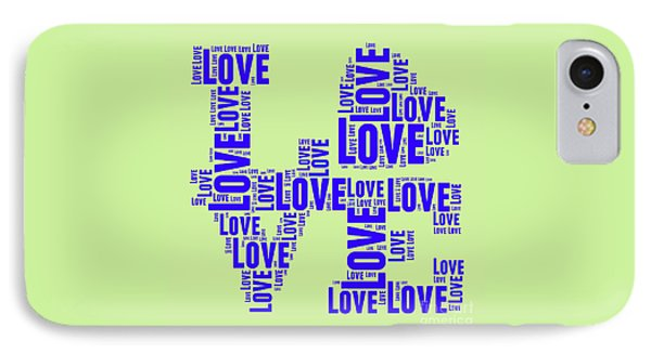 Tribute iPhone 8 Case - Pop Love 5 by Delphimages Photo Creations