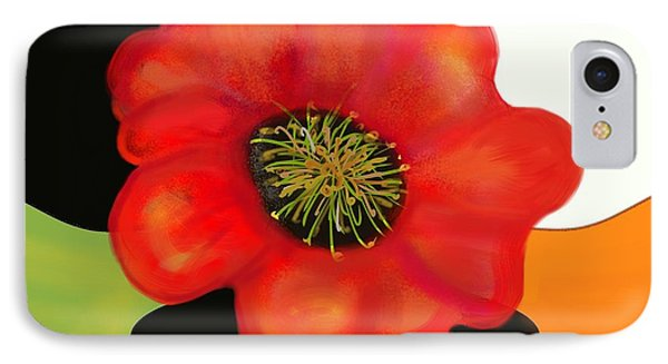 Pop Poppy IPhone Case