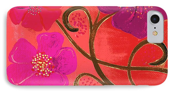 Pop Spring Purple Flowers IPhone Case