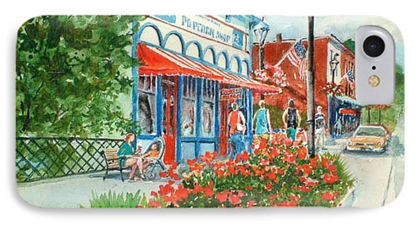 Popcorn Shop In Summer/chagrin Falls IPhone Case