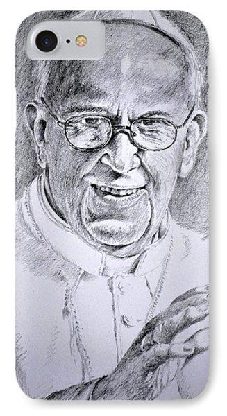 Pope Franciscus IPhone Case