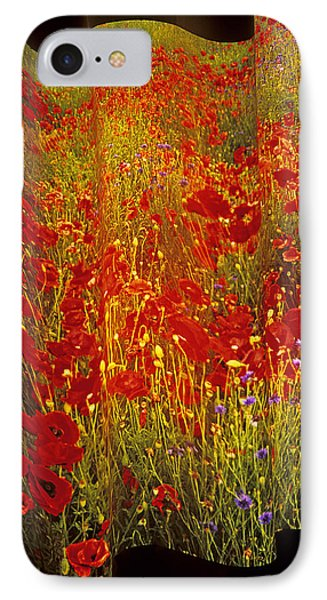 Poppies And Wildflowers IPhone Case