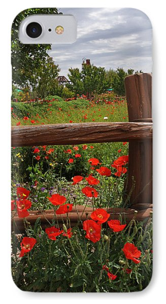 Poppies At The Farm IPhone Case