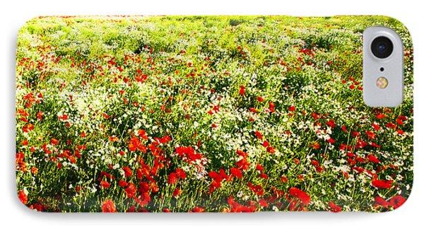Poppy Field In Summer IPhone Case