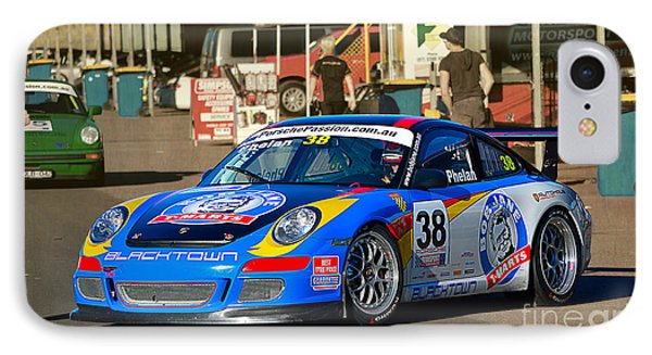 Porsche In The Pits IPhone Case