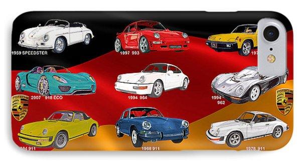 Porsche Times Nine IPhone Case