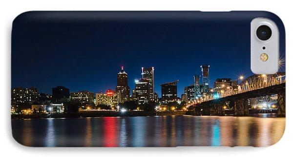 Portland Oregon Nightscape IPhone Case