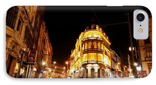 Porto Portugal At Night 1 Am IPhone Case