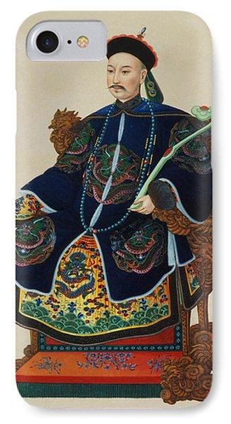 Portrait Of A Mandarin IPhone Case