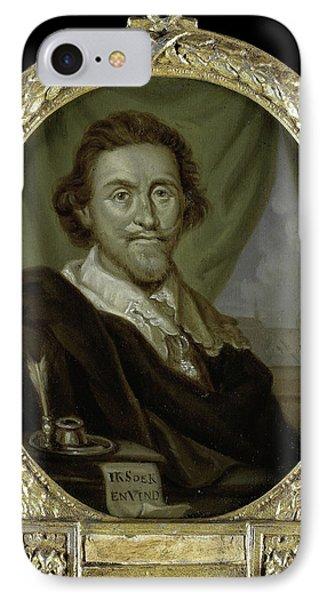 Portrait Of Adriaen Pietersz Van De Venne IPhone Case
