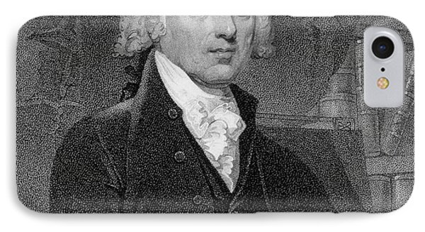 Portrait Of James Madison IPhone Case