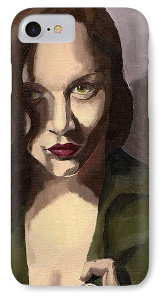 Portrait Of Katelind IPhone Case