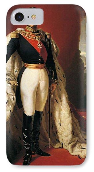 Portrait Of Napoleon IIi Louis Napoleon Bonaparte IPhone Case