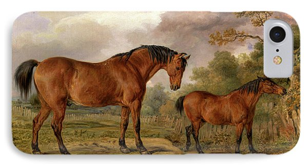 Portrait Of Reformer, Blucher, Tory And Crib IPhone Case