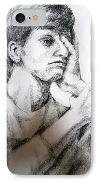 Portrait Of The Artist As A Young Man IPhone Case