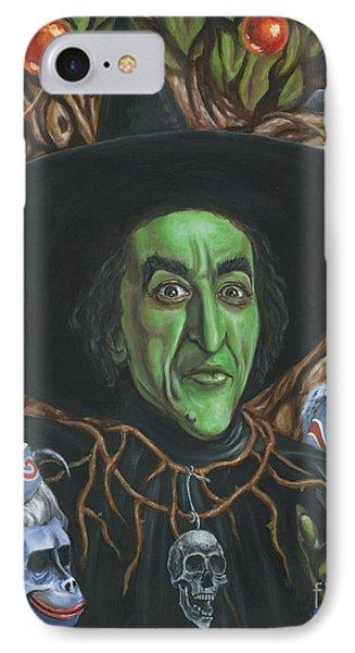 Portrait Of Wickedness IPhone Case