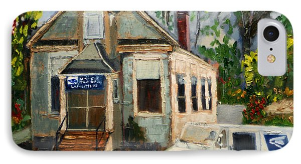 Post Office At Lafeyette Nj IPhone Case