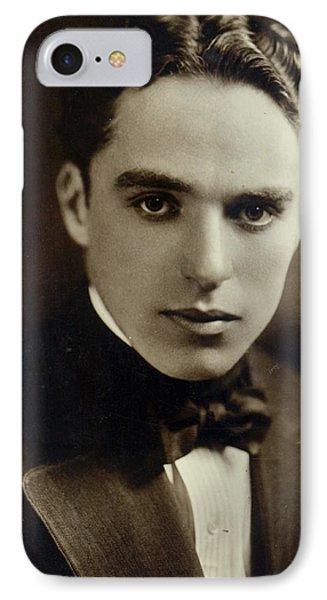 Postcard Of Charlie Chaplin IPhone Case